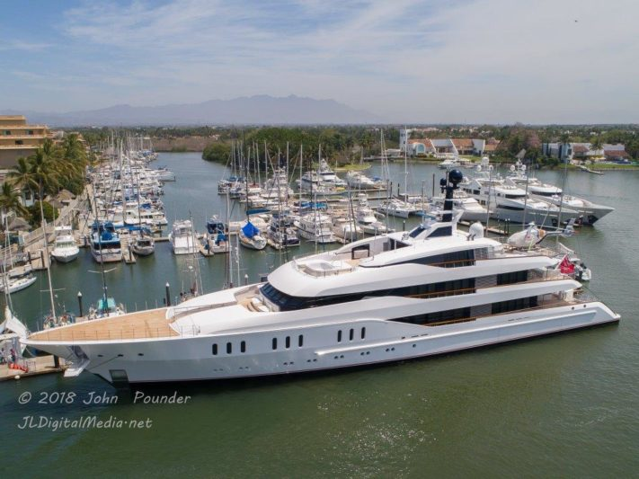 Mexican marina makes room for larger yachts
