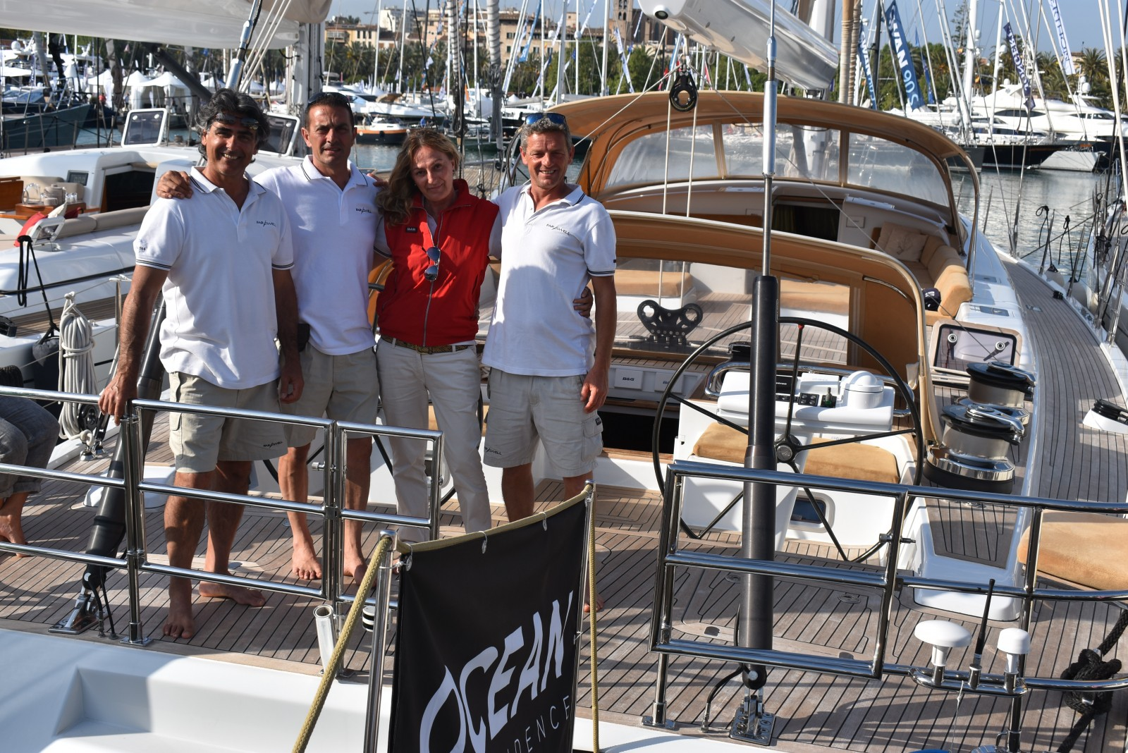 Palma18: Visitors, seminars keep show crew busy