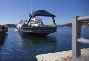 Wärtsilä autodocking system tested on 272-foot ferry