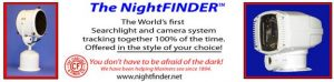New Nightfinder combines infrared searchlight, strobe and camera