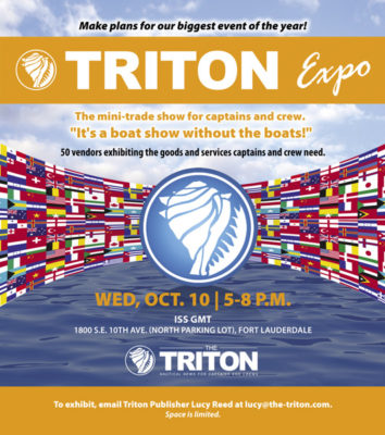Triton Expo date, location set for October