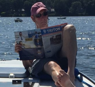 Triton Spotted in Connecticut
