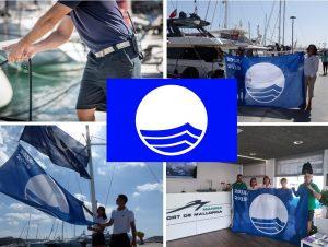 Marinas achieve Blue Flag status