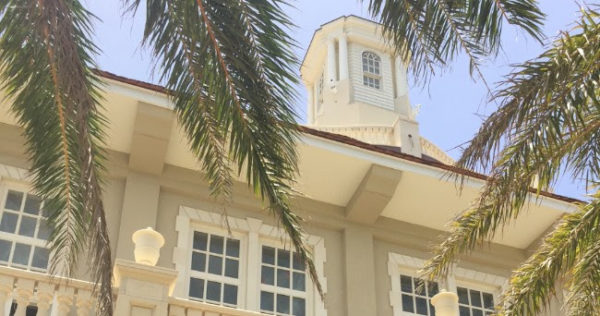 New Customs House in St. Kitts nearly done