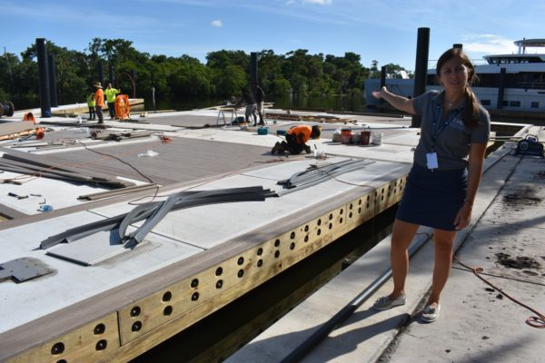 New, larger docks open at LMC