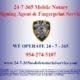 24 Hr Mobile Notary & Fingerprint Service