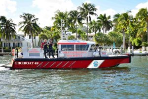 FLIBS18: Fort Lauderdale Fire Rescue at the ready for yacht emergencies