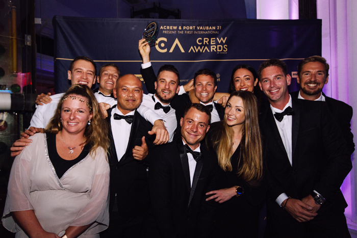 17 captains, crew honored with Acrew's Crew Awards