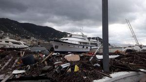 High winds, rain wreak havoc in Italy