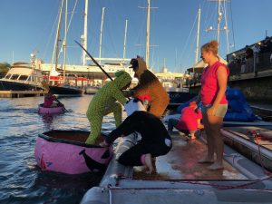 Newport Shipyard's Pumpkin Regatta raises $3,600 for charity