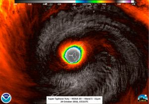 Monster typhoon slams Marianas Islands
