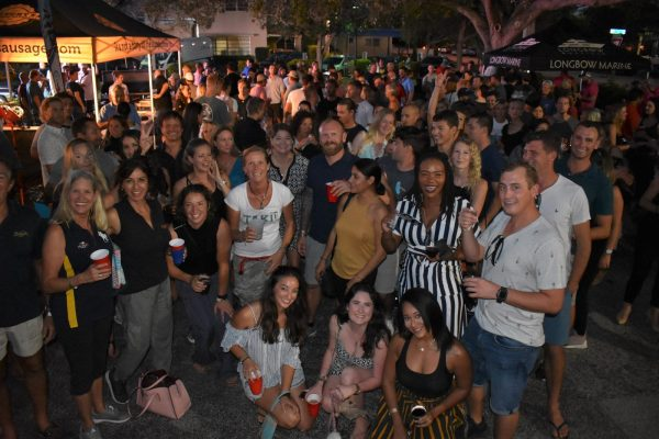 Hundreds of yacht crew attend Parking Lot Party with PYT