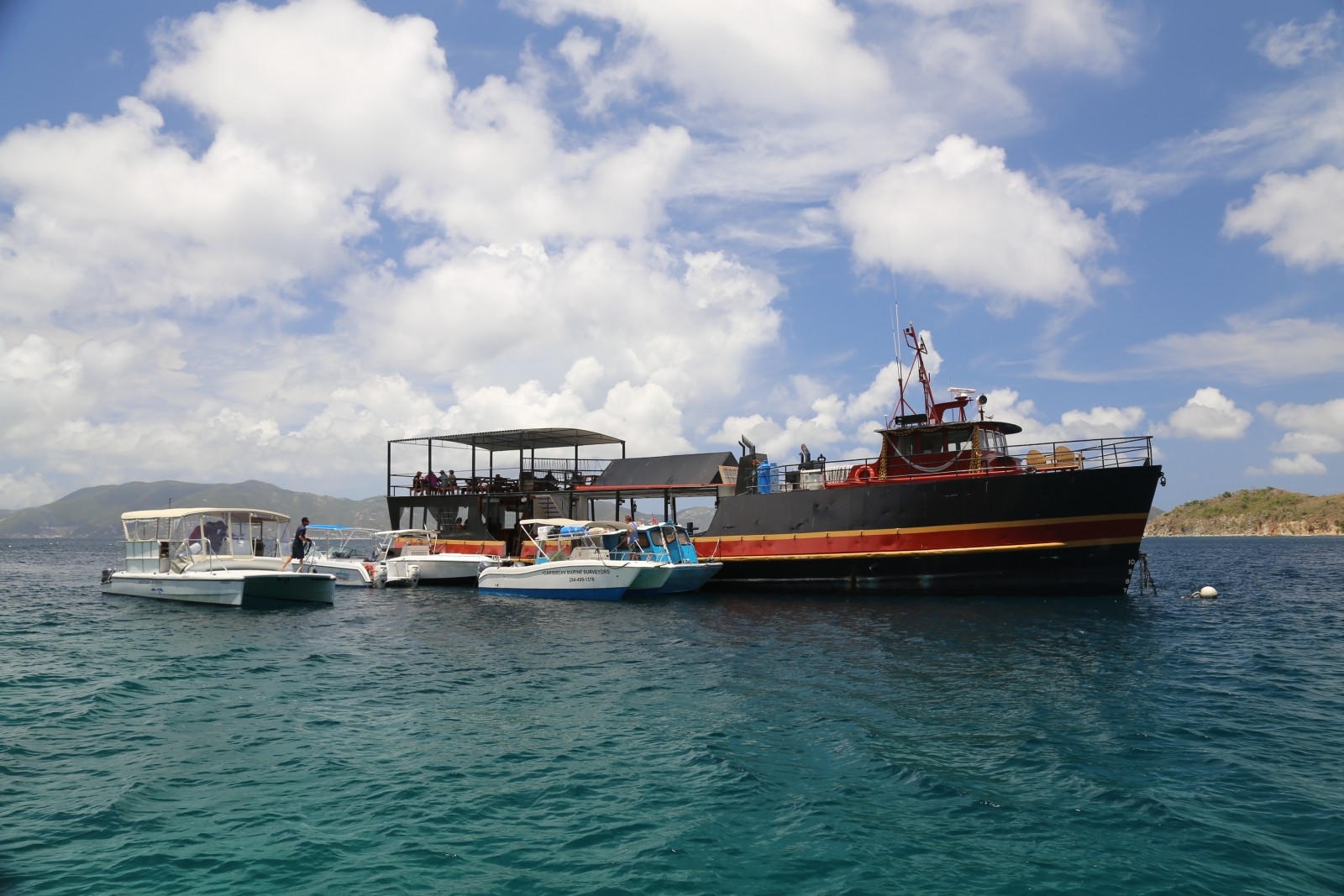 New Willy-T Arrived - BVI Yacht Charters