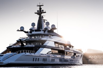 New 109m Oceanco launched