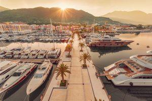 New marinas, yard in Montenegro