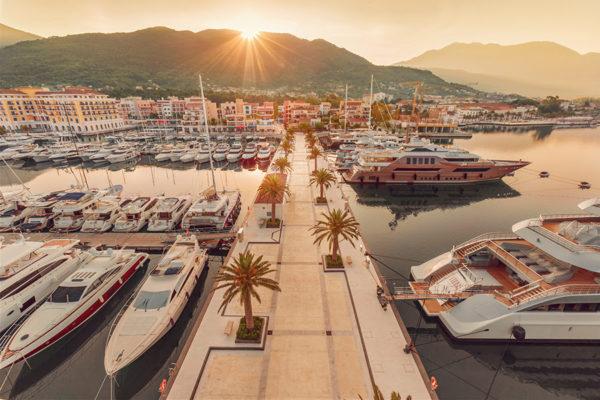 Montenegro marina offers winter berthing
