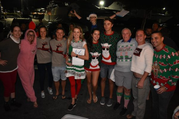 Bluewater, Yacht Chandlers host Yacht Crew Ugly Sweater contest