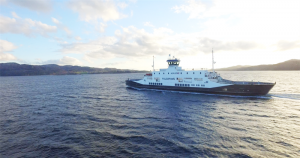 85m ferry navigates 3-port route on its own