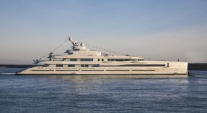 Benetti launches first of three gigayachts