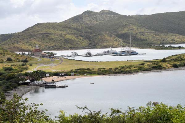 Superyacht emphasis continues at The Marina at Christophe Harbour