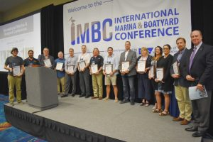 IMI recognizes newly certified marina professionals