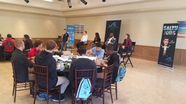 Students learn about maritime careers in Fort Lauderdale