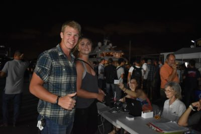 Yacht crew join Triton networking with Universal Marine Center