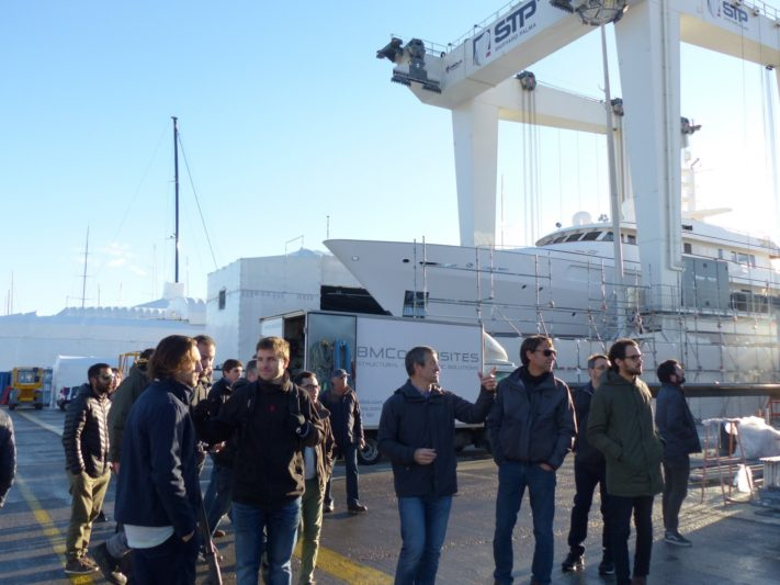 Palma shipyard helps train students of new university nautical program