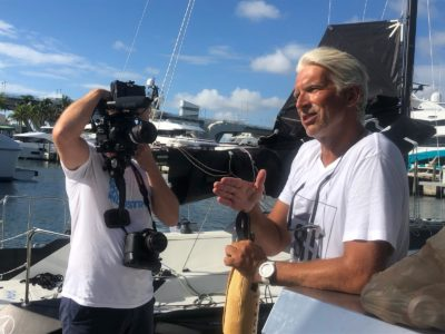Sans instruments, solo sailor brings environmental mission to Fort Lauderdale