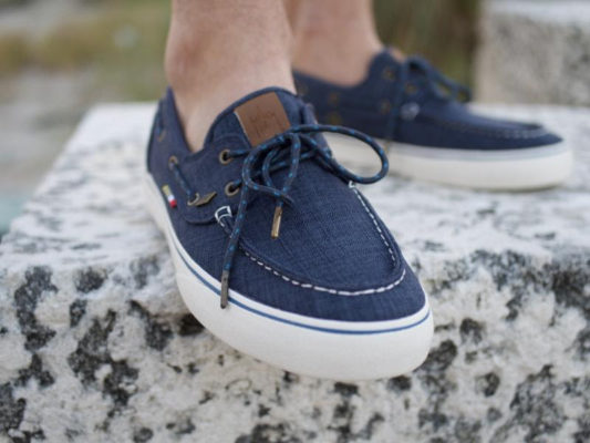 Stylish footwear helps save the ocean