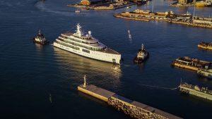 Benetti launches second giga yacht