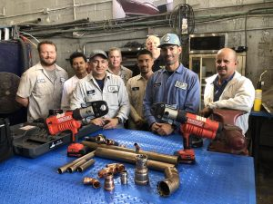 Derecktor certified to install Viega pipe fitting products