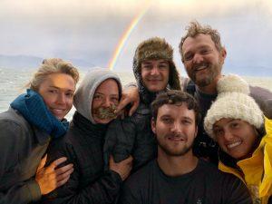 Dorothea crew explore Southern Hemisphere, too