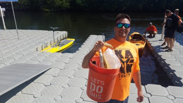 Cleaning up the waterway