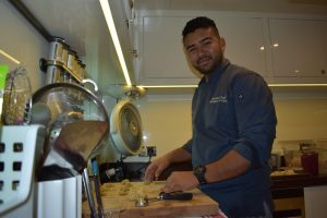 Crew Eye: In the galley with Chef Velez