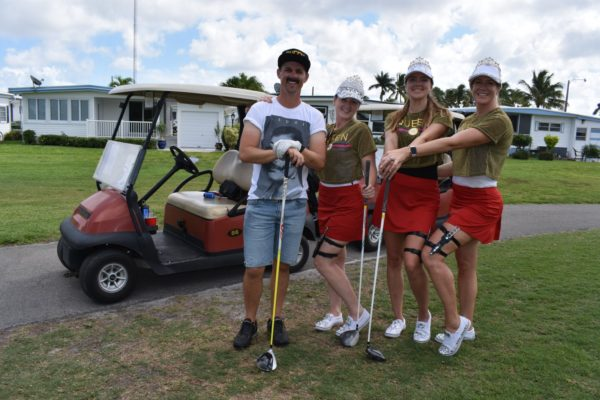 Yacht captains, crew golf for charity at NMS Yachty Nationals