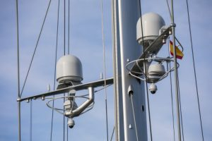 First dual antenna system installed