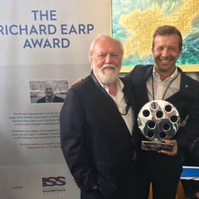 Fotilas wins brokers award at Superyacht Show