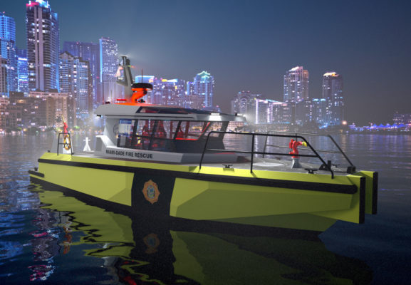 Miami-Dade orders new Metal Shark fire boats
