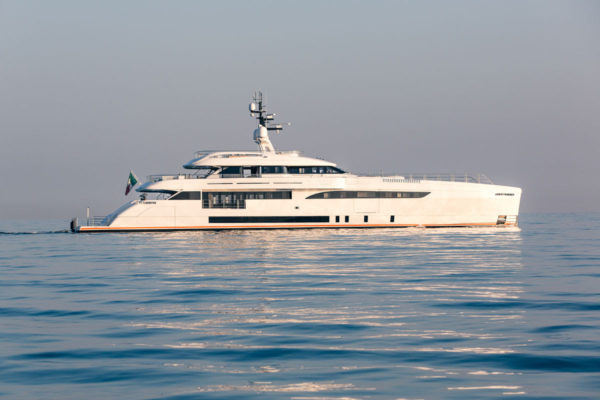 Latest in the brokerage fleet: Benetti new build sells; Cecelia listed