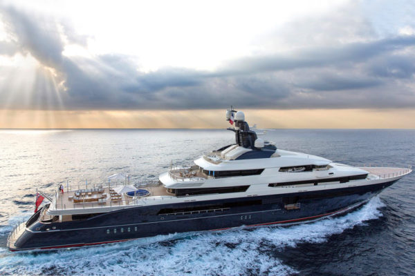 Latest news in the charter fleet: Tranquility now with CN