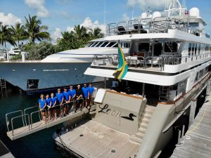 Crew of Motoryacht Loon share a Crew Eye