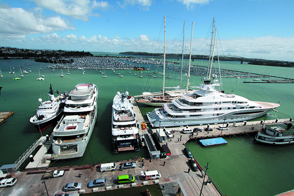 America's Cup dockage requests open