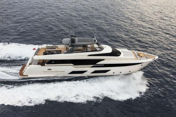 New build Ferretti 920 delivered