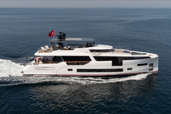 Sirena Yachts launches its largest yacht