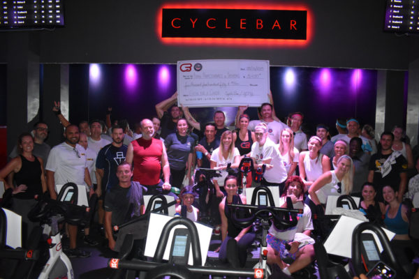 Spin event raises $5,000 for charity
