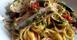 Top Shelf: Linguini with seafood from Marina di Stabia