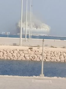 Three yachts lost in NDSQ shipyard fire