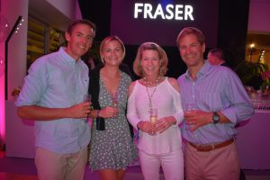 Monaco19: Scene at the Fraser party