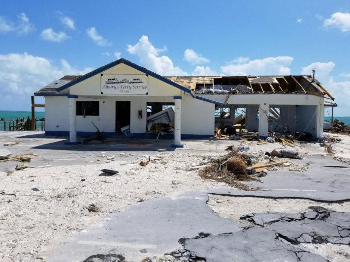 The Triton on island after Hurricane Dorian tears through Marsh Harbour